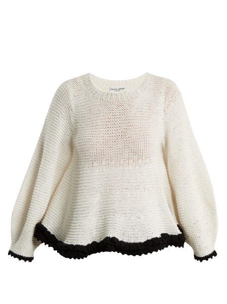 Apiece Apart sweater cotton white black