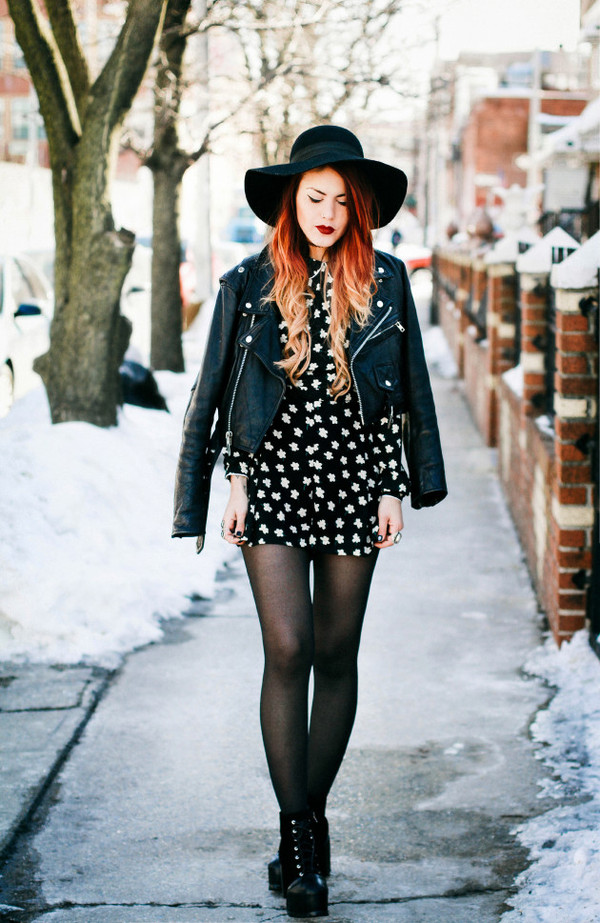 Black Lapel Long Sleeve Floral Chiffon Jumpsuits ...