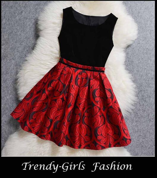 #30112 slim vest dress