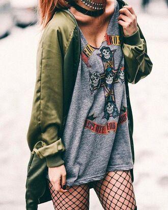 shirt t-shirt rock punk grunge tumblr hipster grey cross