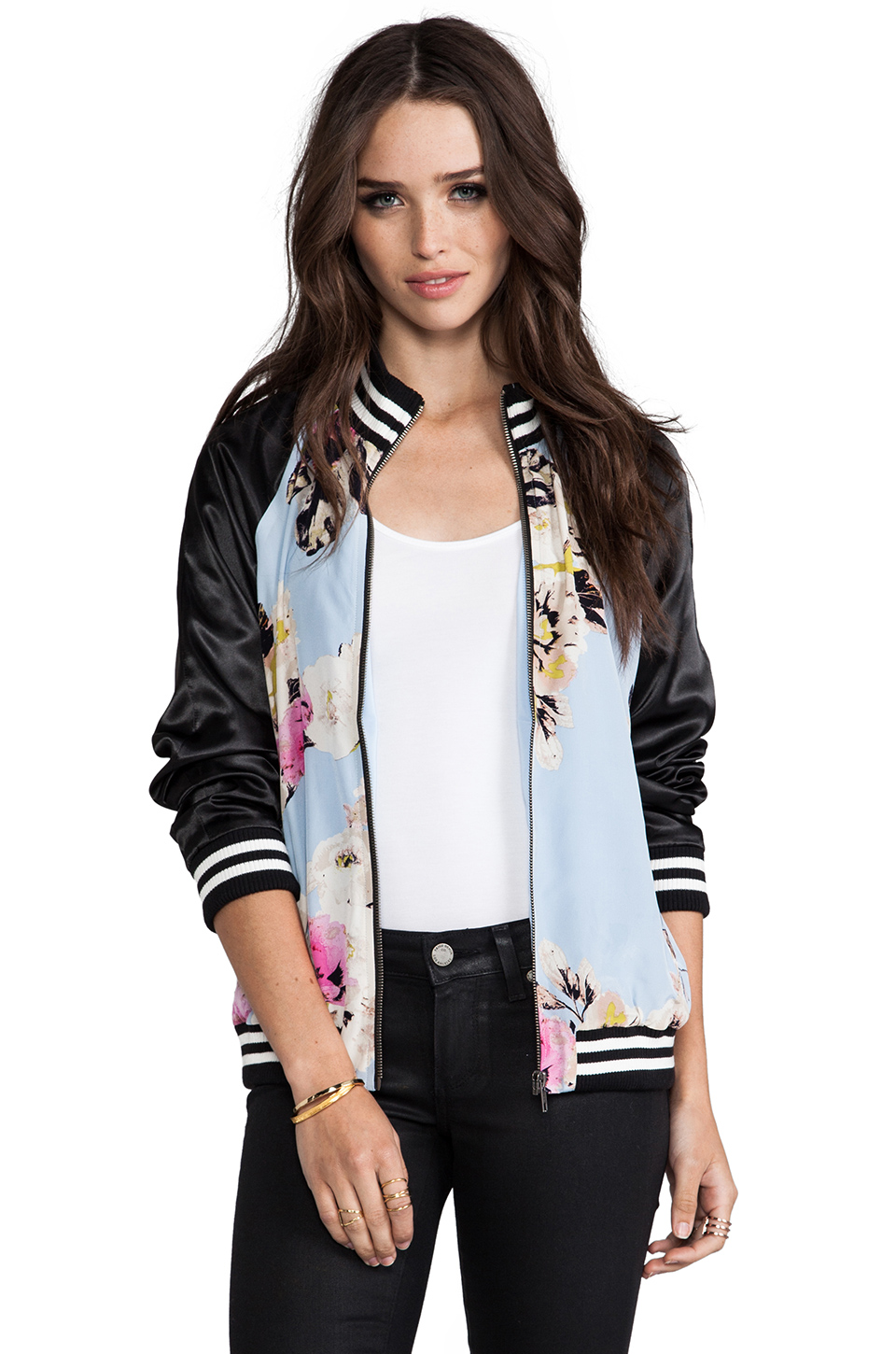 PJK Patterson J. Kincaid Kerra Jacket in Jaedite Multi | REVOLVE