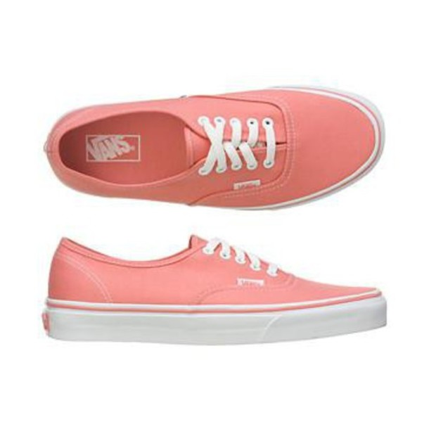 vans rose pink pastel shoes