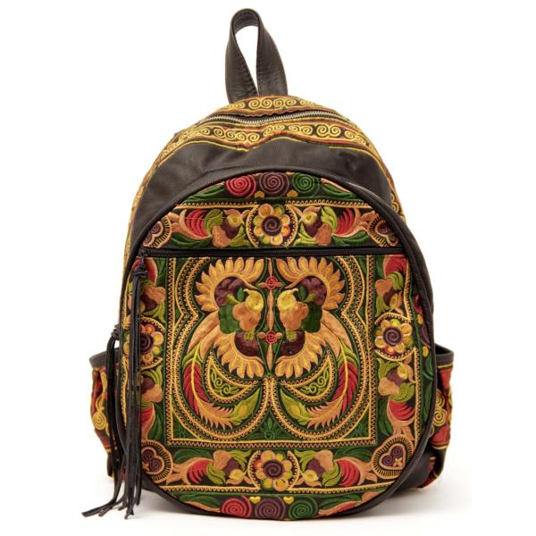 Nirvana Upcycled Backpack | Sabrina Tach