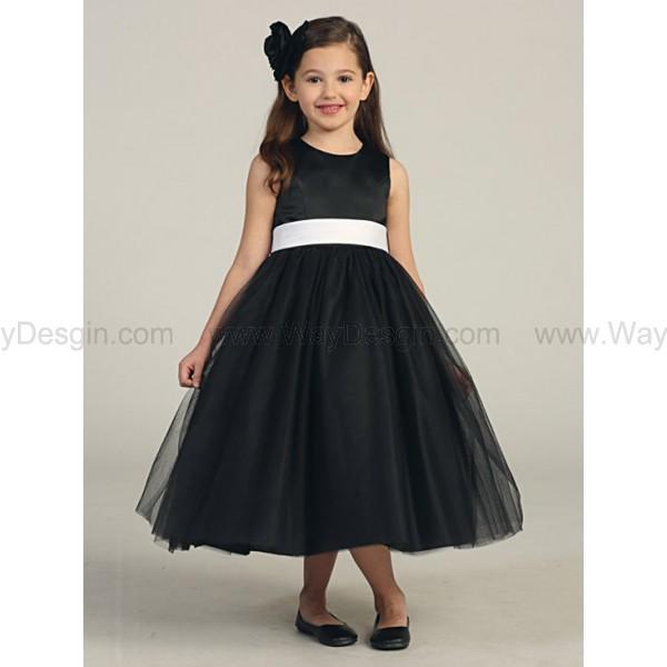 black flower girl dress flower girl dress black dress dress
