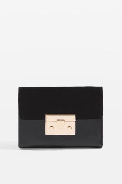 Topshop purse black bag