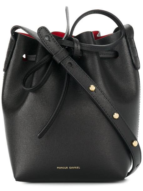 Mansur Gavriel women bag shoulder bag leather black