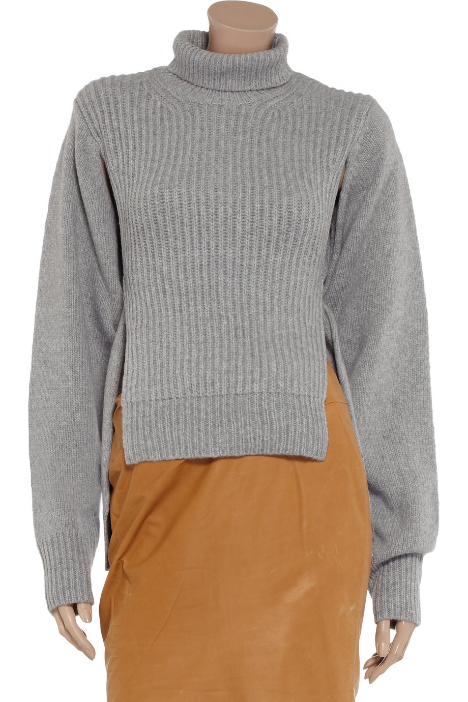Alexander Wang Split-side turtleneck sweater – 75% at THE OUTNET.COM