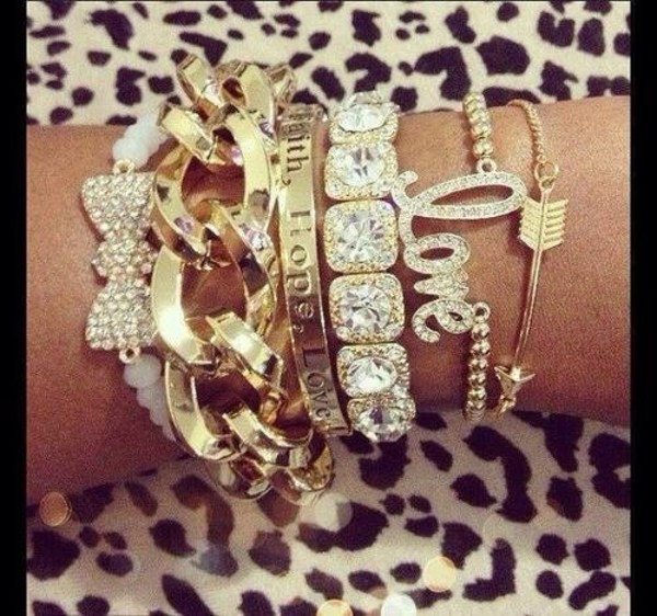 jewels gold love bracelet gold chain bracelet diamonds bow bracelet