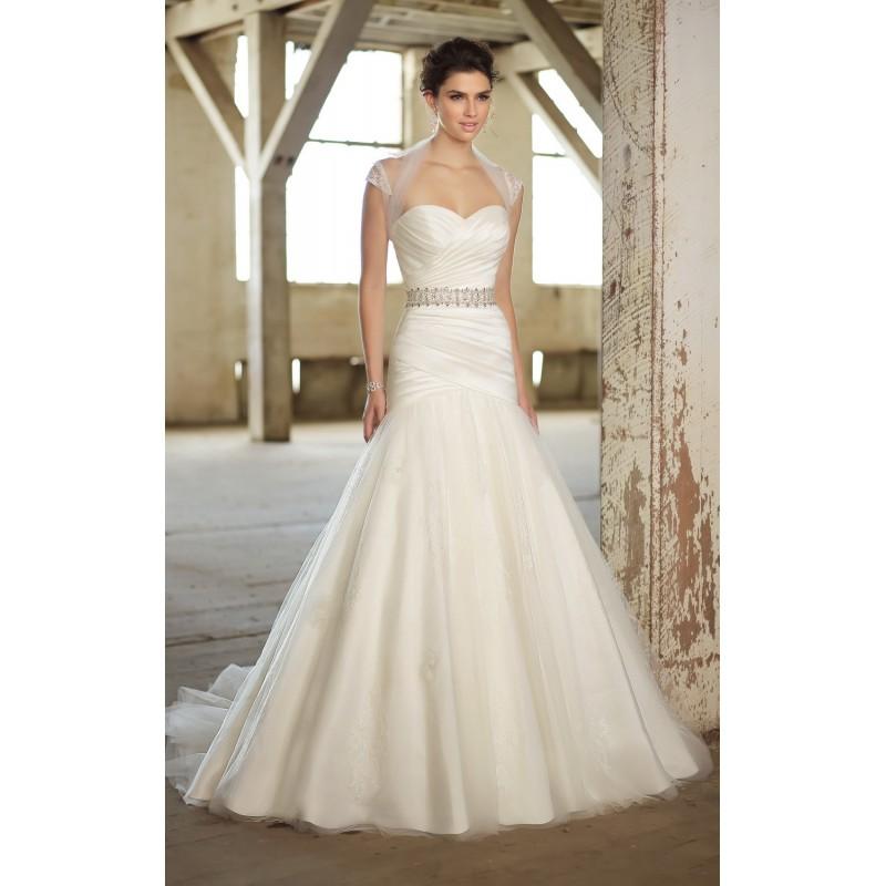 Essense of Australia D1360 Bridal Gown (2013) (EA13_D1360BG) - Crazy Sale Formal Dresses|Special Wedding Dresses|Unique 2017 New Style Dresses