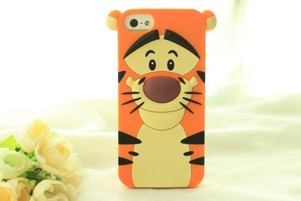 jewels tigger iphone cover tiger phone cover iphone iphone 5 case cute