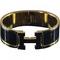 Black bracelet clic hermès black
