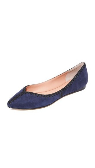 ballet flats ballet flats navy black shoes