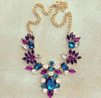 jewels blue purple pink hipster kawaii grunge tumblr gold alien love