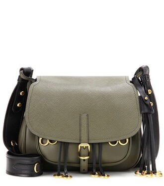 bag crossbody bag leather green