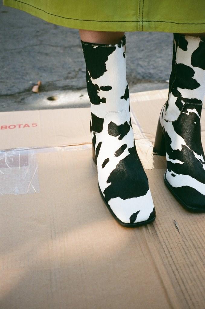 PG Boot - Cow Print