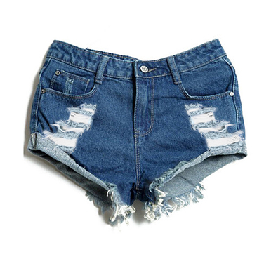 Original Boyfriend 420 Shorts - Arad Denim