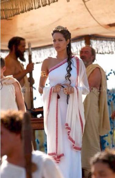 angelina jolie grecian dress grecian maxi dress grecian