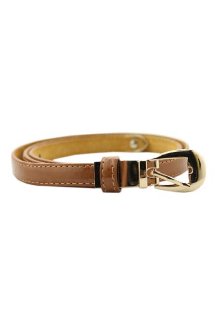 ROMWE | Slim Dark Yellow Stitching Waist Belt, The Latest Street Fashion