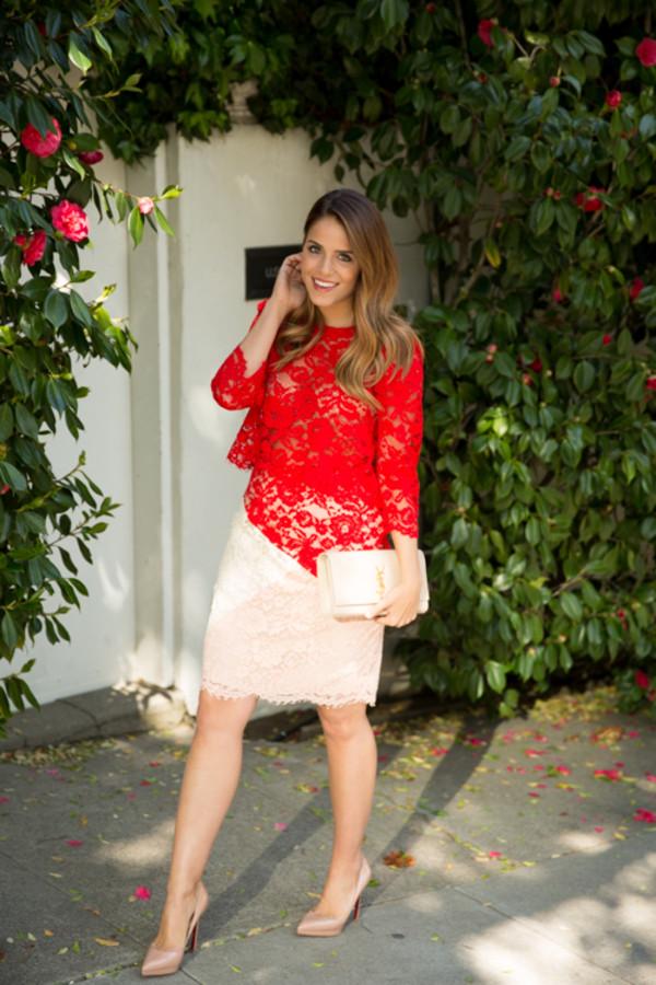gal meets glam t-shirt skirt bag shoes