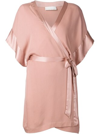 kimono purple pink top