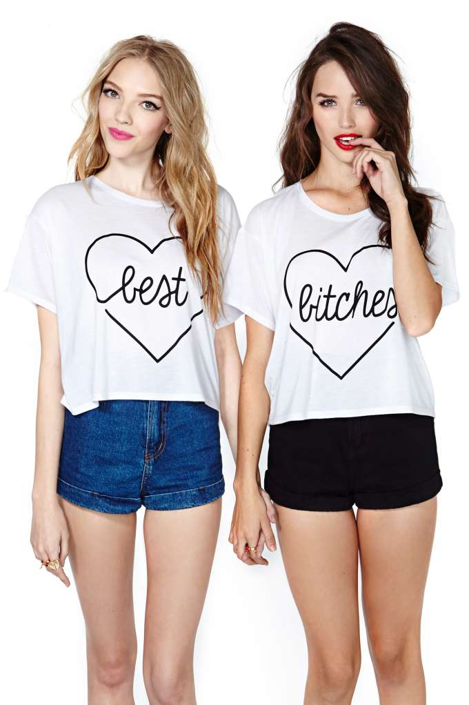 My Girls Crop Tee Set | Shop Best Bitches at Nasty Gal