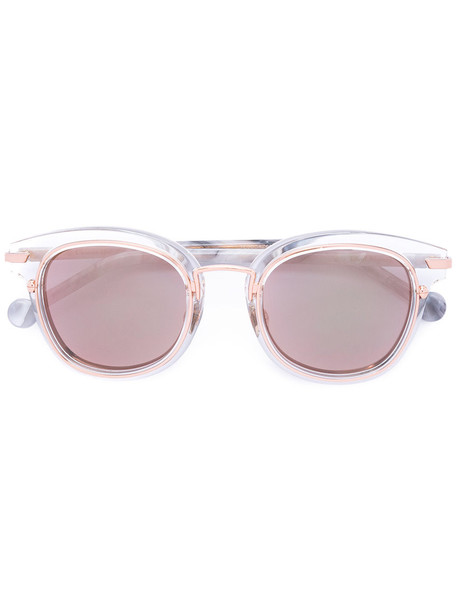 Dior Eyewear metal women sunglasses white