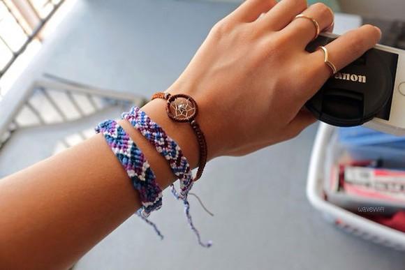 brown jewels bracelets dream catcher bracelet dreamcatcher
