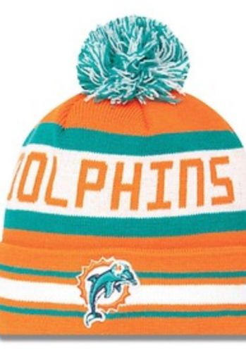 Brand New Miami Dolphins Beanie Approx Delivery Within A Week | eBay