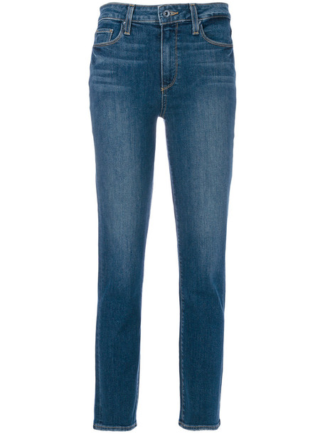 Paige jeans women spandex cotton blue