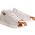 Adidas Superstar 80s Rose Gold Metallic White Leather - Unisex Sports