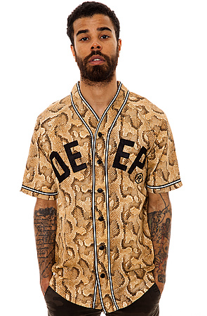 The 10 Deep Jersey 1914 Baseball Jersey in Snake -  Karmaloop.com