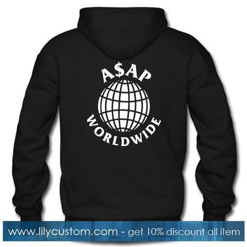 Asap Worldwide Hoodie Back