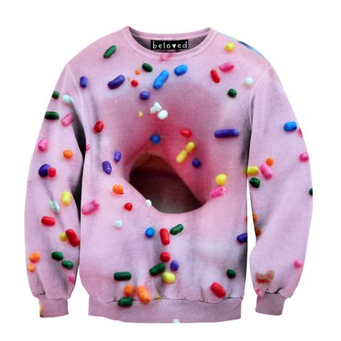 Pink Doughnut Sweatshirt