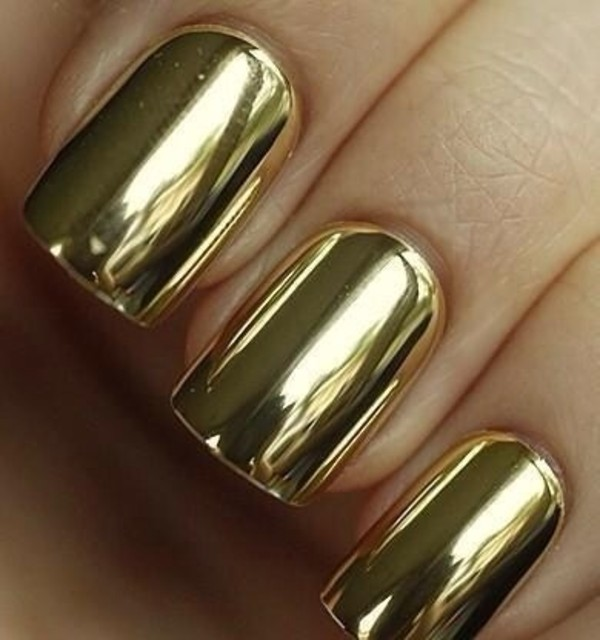 nail polish gold nails nail armour metallic mirror mirror effect metallic nails metalic gold chrome chrome nail polish chrome nail varnish nail varnish nail accessories fashion beautiful style 2015 2014 2015 fashion trends manicure gold manicure mani pedi nail wraps nail accessories nail art nail stickers