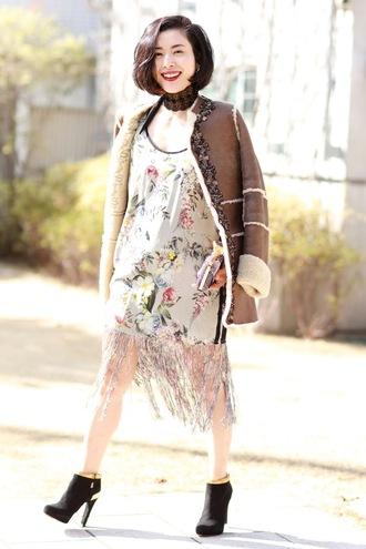 fetish tokyo blogger coat gloves scarf tights pants dress bag