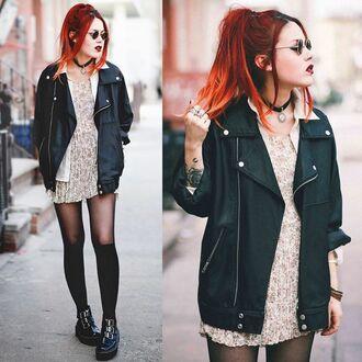 jacket le happy black black jacket