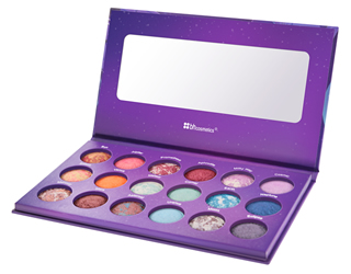 Galaxy Chic Baked Eyeshadow Palette: Baked Makeup-BH!