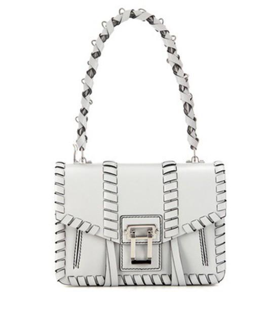 Proenza Schouler Hava Chain Leather Shoulder Bag in grey
