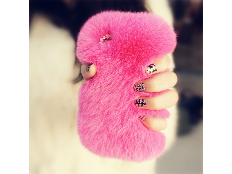 iPhone 5/5S Gorgeous Fluffy Case (Pink)