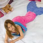 home accessory,mermaid blanket,mermaid,blanket,mermaid blanket for children