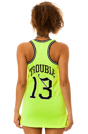 Crooks and Castles Shirt Athletica Basketball Jersey in Neon Yellow -  Karmaloop.com