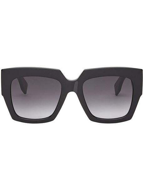 Fendi Eyewear women plastic sunglasses black