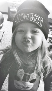 hat,beanie,aintnowifey,black,winter outfits,ain't no wifey,white,black and white,kid,hood,hat beanies