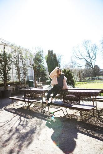 vasilieva blogger pants sweater celine stella mccartney