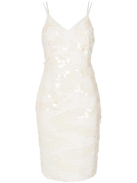 Tufi Duek dress embellished dress women embellished silk