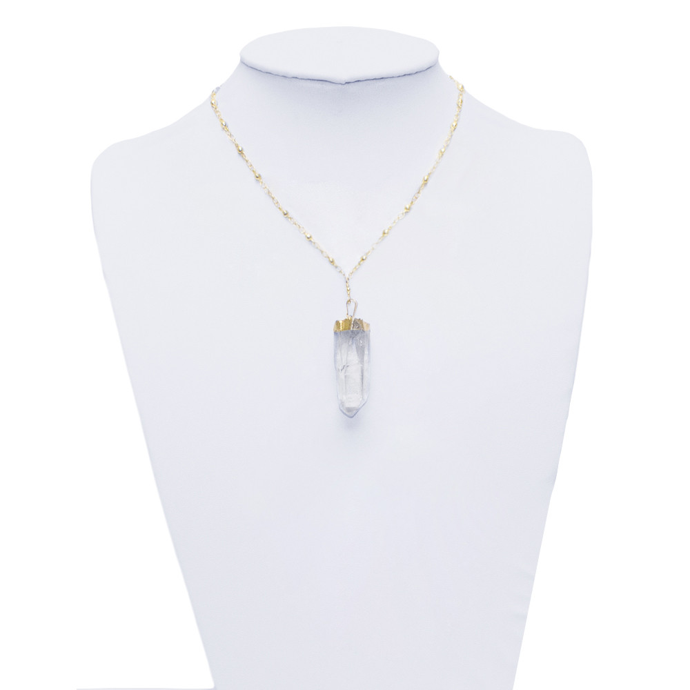 Clear Quartz Pendant Necklace