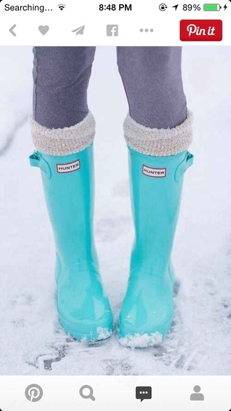 shoes tiffany blue boots hunter boots