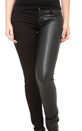 pants black trousers leather black leather suede