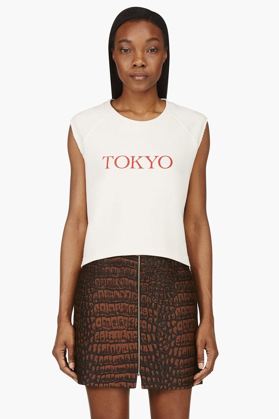 roseanna tokyo sleeveless pull over