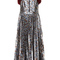 Metallic floral nova dress | moda operandi